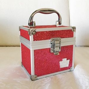 Hot Pink Sparkly Caboodle Makeup Storage / Purse